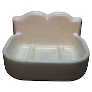Vintage Porcelain Soap Dish Holder 1920-30s Vintage Condition