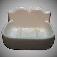 Vintage Porcelain Soap Dish Holder 1920-30s Vintage Condition