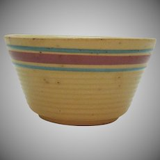 Vintage Watt #6 Bowl Advertising for Barker Lumber Co. 1930-60s Good Condition