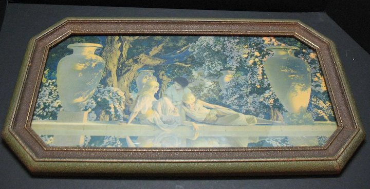 Vintage Maxfield Parrish the Garden of Allah 1920s Good Condition ...