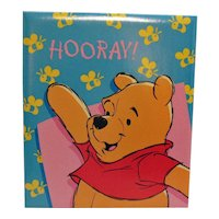 Vintage Winnie the Pooh Picture Album mid 1980s Never Used Very Good Condition