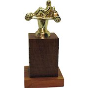 Vintage Go-Kart Trophy 1960-70s Good Condition