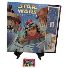 Vintage Star wars Play-N-Sound with Book Good Condition