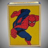 Vintage Spiderman Toothbrush Holder by Avon 1979 Good Unused Condition