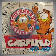 Vintage 1981 Garfield Yo-Yo on Original Package Unopened