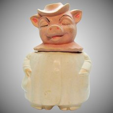 Vintage Terrace Ceramic Winnie the Pig by American Pottery Co.  1961-65 Good Vintage Condition