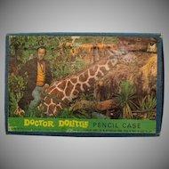 Vintage Dr. Dolittle Pencil Box 1967 Unopened Good Condition