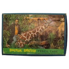 Vintage Dr. Dolittle Pencil Box 1967 Unopened Good Condition