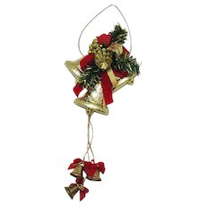 Vintage Wall/Door Christmas Decoration 1970-80s Good Condition