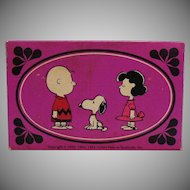 Three Vintage Soaps Avon Charlie Brown & Friends 1970 Original Box