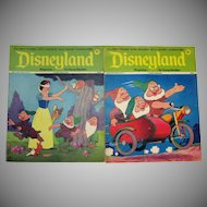 Vintage Walt Disney Magazines Disneyland & Fun to Know 50 Magazines 1970s Good to Fair Condition