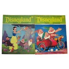 Vintage Walt Disney Magazines Disneyland & Fun to Know 50 Magazines 1970s Good to Fair Condition FREE SHIPPING