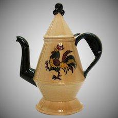 Vintage Metlox Vernon Poppytrail California Provincial 5 Cup Coffee Pot 1956-82 Good Condition