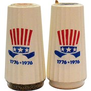 Vintage Morton Salt Bi-centennial Shakers Never Opened 1976 Good Condition