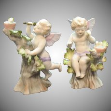Very Rare Lefton Porcelain #952 Figurines 1946-53 Good Condition