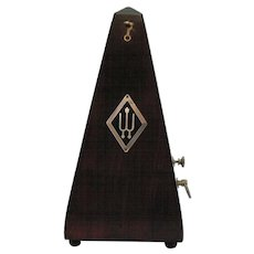 Vintage Metronome Made in Germany Early 1900s Good Working Condition