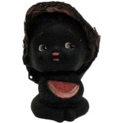 Vintage Black Americana Boy Nodder Figurine 1950-60s Good Condition