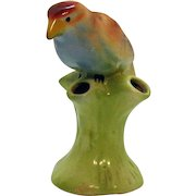 Vintage Czech Ceramic Bird Vase 1920-30s Good Condition