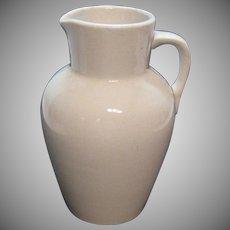 Antique Porcelain Advertising Pitcher H. Wichert Chicago Illinois 1870-1899