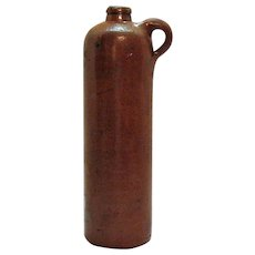 Antique Pottery Gin Bottle Wynand Fockink Amsterdam Late 1800s good condition