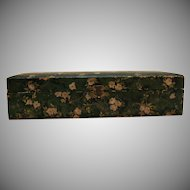 Vintage Vanity Glove/Trinket/Jewelry Box 1920-30s Good Vintage Condition