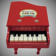 Vintage MarJay Toy Grand Piano 1950s Good Condition