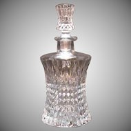 Vintage Gorham Crystal Decanter Made by Nachtmann of West Germany Good Condition