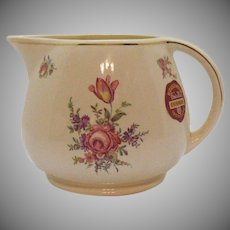 Vintage Homer Laughlin Kitchen Kraft Household Priscilla Ovenware Institute Jug 1940s Good Condition