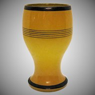 Vintage Art Deco Free Hand Vase by Imperial Glass Co. 1920s Good Condition