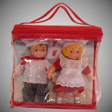Vintage Campbell Soup Dolls 1950-70s Original Package Excellent Condition & Complete