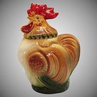 Vintage Ceramic Chicken Cookie Jar by Sierra Vista of California 1950s