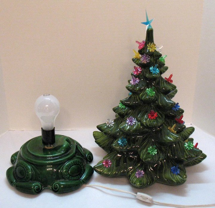 Collection Of Ceramic Christmas Tree Ornaments Unamon