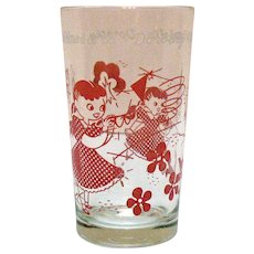 Vintage Wizard of OZ Dorothy Tumbler 1950s Good Condition
