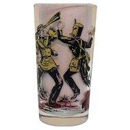 Vintage Davy Crockett Glass 1950s Good Condition