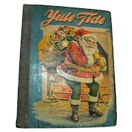 Vintage Antique Book Yule Tide 1902 Good Vintage Condition