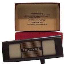Vintage Bakelite Stereoscope Tru-Vue Inc Viewer 1931-52 Good Condition