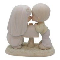 Vintage Precious Moment Porcelain Figure 1992 Good Condition