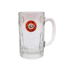Vintage A&W Root beer  Large Glass Mug 1960s Good Condition