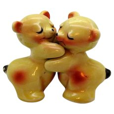 Vintage Van Tellingen Huggy S&P Shakers Made by Regal China Co. 1947-50s Good Condition