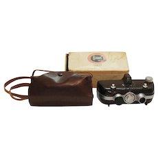 Vintage Haneel Tri-Vision Stereo Camera 1946-49 Good Vintage Condition