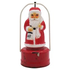 Vintage Santa Signal Lantern 1940-50s Vintage Condition