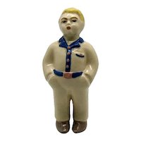 Vintage Ceramic Arts Studio Jim Figurine 1947 Good Condition