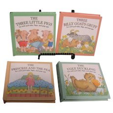 Four Vintage Kids Pop-Up Books by Ladybird Bks. Ltd. 1994 Like New Condition
