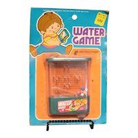 Vintage Mint on Package Hand Held Water Game 1960-70s Like New Condition