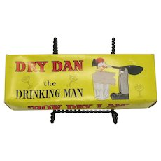 Vintage Breweriana Day Dan The Drinking Man Bar Novelty Toy 1960s Good Condition