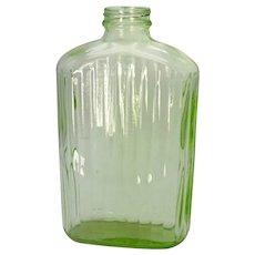 Vintage Hocking Transparent Green Water Jug 1930-40s No Lid Good Vintage Condition