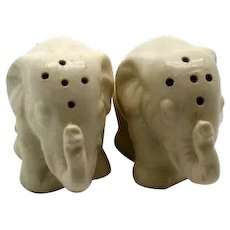 Vintage Elephant S&P Shakers 1950s Good Condition