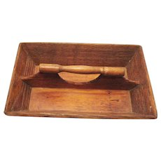 Vintage Early 1900s Wooden Knife/Cutlery Tray Dove Tailed Corners Good Vintage Condition