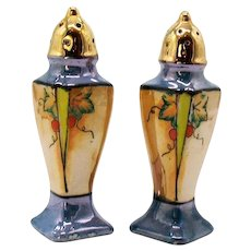 Vintage Japan Lusterware S&P Shakers 1930s Good Condition