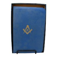 Vintage Masonic Bible In Original Box 1958 Very Good Condition FREE SHIPPING